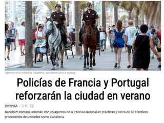 Spanish headline