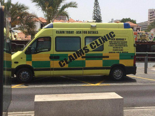 claims ambulance